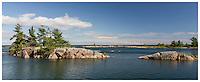 """Georgian Bay - Panoramic - 40"""" 48"""" 54"""""""