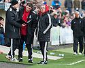Ayr Utd Manager Ian McCall.