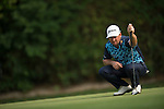 Graeme McDowell of Northern Ireland thinks during Hong Kong Open golf tournament at the Fanling golf course on 24 October 2015 in Hong Kong, China. Photo by Aitor Alcade / Power Sport Images