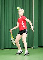15-3-09, Rotterdam, Nationale Overdekte Jeugdkampioenschappen 12 en 18 jaar, Janine Hemmes