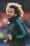 Marcelo Vieira Da Silva of Real Madrid in training prior to the La Liga 2017-18 match between Valencia CF and Real Madrid at Estadio de Mestalla  on 27 January 2018 in Valencia, Spain. Photo by Maria Jose Segovia Carmona / Power Sport Images