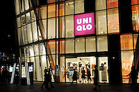 The Uniqlo store in Beijing, China.