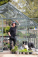 BNPS.co.uk (01202) 558833. <br /> Pic: CorinMesser/BNPS<br /> <br /> Carey Secret Garden. <br /> <br /> Head gardener Paul Scriven.<br /> <br /> The new owners of a historic country estate have discovered an overgrown secret garden that had lain untouched and forgotten for more than 40 years.<br /> Simon Constantine was astounded when he and his children went off exploring the grounds of Carey House near Wareham, Dorset, and found the 'lost' walled garden behind a padlocked gate.<br /> The 3.5 acre plot was built 140 years ago and would have at one stage served both the estate and the wider community with fresh fruit, vegetables and cut flowers back in the day.