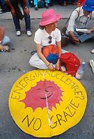 - manifestation against nuclear power station of Trino Vercellese ....- manifestazione contro la centrale nucleare di Trino Vercellese