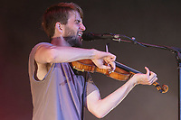 Howen Palett performs at the Festival d'ete de Quebec (Quebec City Summer Festival) Monday July 13, 2015.