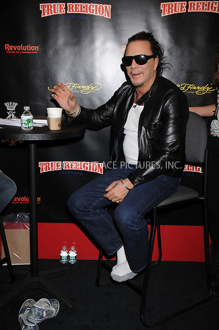 WWW.ACEPIXS.COM . . . . . ....March 28 2009, New York City....Actor Mickey Rourke at Vision Expo East at the Javits Convention Center on March 28 2009 in New York....Please byline: KRISTIN CALLAHAN - ACEPIXS.COM.. . . . . . ..Ace Pictures, Inc:  ..tel: (212) 243 8787 or (646) 769 0430..e-mail: info@acepixs.com..web: http://www.acepixs.com