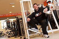 Chris Hart, owner of Harts Strength and Fitness of Clowne, Derbyshire
