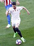 Sevilla FC's Sergio Escudero during La Liga match. March 19,2017. (ALTERPHOTOS/Acero)