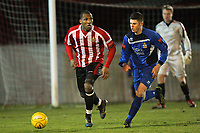Rickie Hayles on the ball for Hornchurch - AFC Hornchurch vs Aveley - Ryman League Premier Division Football at The Stadium - 17/12/11 - MANDATORY CREDIT: Gavin Ellis/TGSPHOTO - Self billing applies where appropriate - 0845 094 6026 - contact@tgsphoto.co.uk - NO UNPAID USE