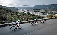 World Champion Mads Pedersen (DEN/Trek-Segafredo) descending<br /> <br /> 7th La Course by Tour de France 2020 <br /> 1 day race from Nice to Nice (96km)<br /> <br /> ©kramon