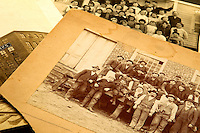 These photo are part of a large collection old photographs that can be found at the Concord Museum. The collection includes an 1890 photograph of the mill crew at Concords Kerr Bag Manufacturing Company, which, in those days before child labor laws, employed boys as workers. Photo is part of a photographic series of images featuring Concord, NC, by Charlotte-based photographer Patrick Schneider..