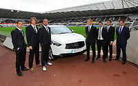 Pictured: Itay Shachter, Michu, Chico Flores, Alan Tate, Pablo Hernandez and Angel Rangel<br />