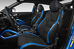 Front seat view of 2016 Hyundai Veloster 1.6 Turbo Rally Edition Manual 4 Door Hatchback Front Seat  car photos
