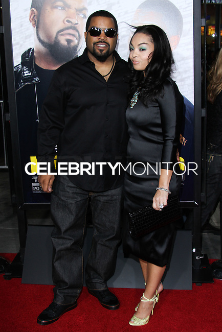 """HOLLYWOOD, CA - JANUARY 13: Ice Cube at the Los Angeles Premiere Of Universal Pictures' """"Ride Along"""" held at the TCL Chinese Theatre on January 13, 2014 in Hollywood, California. (Photo by David Acosta/Celebrity Monitor)"""