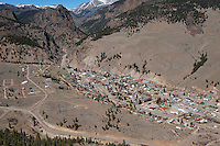 aerial Creede Colorado