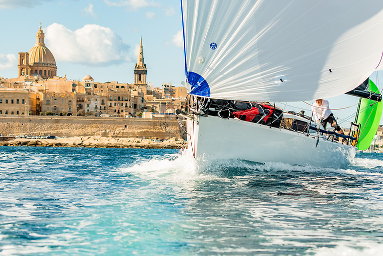 The Yachting Malta Coastal Race starts Wednesday 20th October