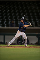 AZL Brewers third baseman Jess Williams (14) at bat during an Arizona League game against the AZL Cubs 1 at Sloan Park on June 29, 2018 in Mesa, Arizona. The AZL Cubs 1 defeated the AZL Brewers 7-1. (Zachary Lucy/Four Seam Images)