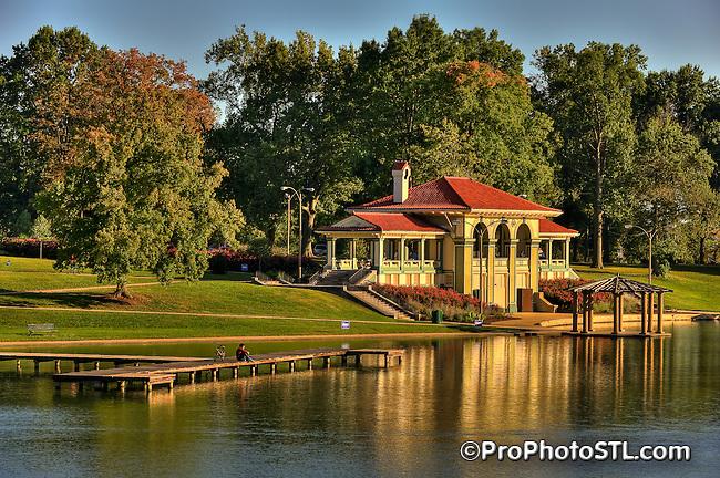 Boat House in Carondelet Park in St. Louis, MO.