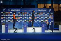 SPEEDSKATING: HEERENVEEN: 11-02-2021, IJsstadion Thialf, ISU World Speed Skating Championships 2021, Nils van der Poel, 5k, ©photo Martin de Jong