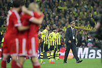 25.05.2013, Wembley Stadion, London, ENG, UEFA Champions League, FC Bayern Muenchen vs Borussia Dortmund, Finale, im Bild Juergen KLOPP (Trainer Borussia Dortmund - BVB) ist enttaeuscht, ist frustriert, frust, zeigt Emotionen nach der Niederlage im Finale von Wembley // during the UEFA Champions League final match between FC Bayern Munich and Borussia Dortmund at the Wembley Stadion, London, United Kingdom on 2013/05/25. EXPA Pictures © 2013, PhotoCredit: EXPA/ Eibner/ Gerry Schmit<br /> <br /> ***** ATTENTION - OUT OF GER ***** <br /> 25/5/2013 Wembley<br /> Football 2012/2013 Champions League<br /> Finale <br /> Borussia Dortmund Vs Bayern Monaco <br /> Foto Insidefoto