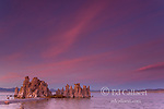 Dusk, Tufa Towers, Mono Basin National Forest Scenic Area, Inyo National Forest, Eastern Sierra, California