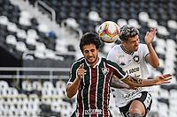 Rio de Janeiro (RJ), 05/07/2020 - Fluminense-Botafogo - Bruno Nazario  (d), do Botafogo. Partida entre Fluminense e Botafogo, válida pela semifinal da Taça Rio, realizada no Estádio Nilton Santos (Engenhão), na zona norte do Rio de Janeiro, neste domingo (05).