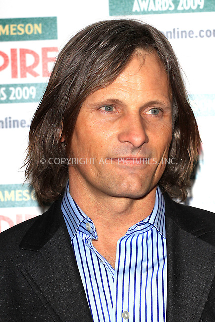 ACEPIXS.Com.............US SALES ONLY.....March 29 2009, London..Actor Viggo Mortensen at The Jameson Empire Film Awards 2009 at the Grosvenor House hotel on March 29 2009 in London ...Please by line:  Famous/ACEPIXS.com..ACE Pictures, Inc.tel: 212 243 8787 or 646 769 0430.Fax: 212 243 8718.Email: info@acepixs.com.www.acepixs.com.