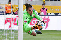 goalkeeper Daniel Mesenhoeler     <br /> / Sport / Football /   2.Bundesliga  DFL /  2017/2018 / 13.05.2018 / SG Dynamo Dresden SGD vs. 1.FC Union Berlin FCU 180513049 /      <br />     *** Local Caption *** © pixathlon<br /> Contact: +49-40-22 63 02 60 , info@pixathlon.de