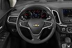 Car pictures of steering wheel view of a 2022 Chevrolet Equinox LT 5 Door SUV Steering Wheel