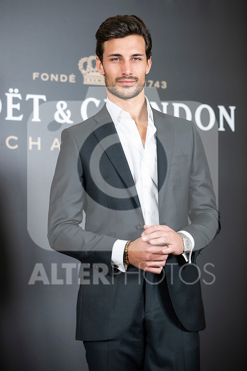 Jaime Astrain In the premiere of the project to celebrate the 150th anniversary of Moet Imperial<br />  Madrid, Spain. <br /> November 19, 2019. <br /> (ALTERPHOTOS/David Jar)