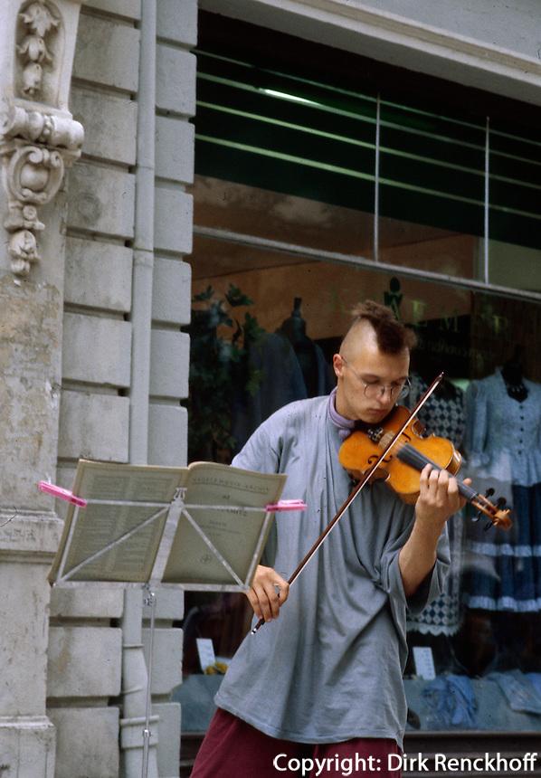 Deutschland, Musikstudent in Weimar