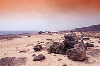 Desert landscape, Netherland Antilles, Caribbean, Atlantic, Bonaire, Bonaire, Washington Slagbaai National Park, Supladó