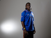 Ofori Sarkodie. U20 men's national team portrait photoshoot before the start of the FIFA U-20 World Cup in Canada. June 22, 2007.