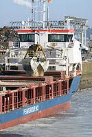 Peak Breskens bei Rhenus Logistik: EUROPA, DEUTSCHLAND, HAMBURG, HARBURG(EUROPE, GERMANY), 02.03.2018: Peak Breskens bei Rhenus Logistik