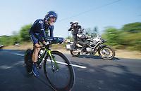 Alejandro Valverde (ESP)<br /> <br /> Tour de France 2013<br /> stage 11: iTT Avranches - Mont Saint-Michel <br /> 33km