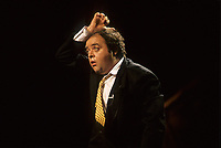 July 10, 1986 File Photo -Jacques Villeret<br /> , french comic at Juste Pour Rire Festival