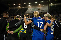 Seattle, WA - Sunday, September 24th, 2017: Seattle Reign FC during a regular season National Women's Soccer League (NWSL) match between the Seattle Reign FC and FC Kansas City at Memorial Stadium.