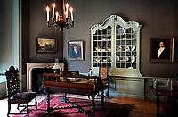Nederland- Oud-Zuilen - 2020. Slot Zuylen is een van de oudste kastelen aan de Vecht.  Kamer in het kasteel. Foto mag alleen gebruikt worden voor redactionele doeleinden. Foto mag niet in negatieve context gepubliceerd worden. . Foto Berlinda van Dam /  ANP / Hollandse Hoogte