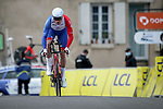 Arnaud Demare (FRA) Groupama-FDJ during Stage 3 of Paris-Nice 2021, an individual time trial running 14.4km around Gien, France. 9th March 2021.<br /> Picture: ASO/Fabien Boukla | Cyclefile<br /> <br /> All photos usage must carry mandatory copyright credit (© Cyclefile | ASO/Fabien Boukla)
