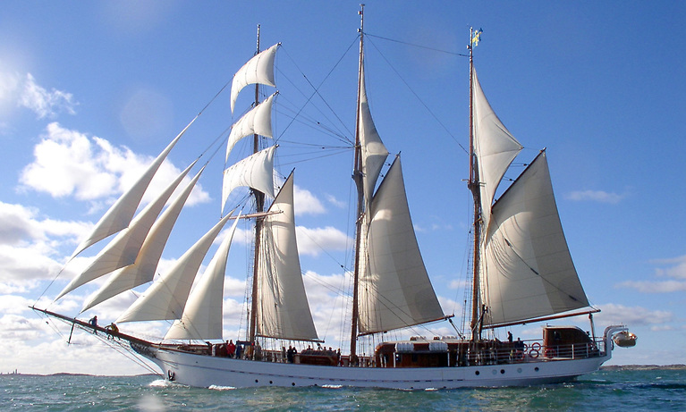 A164ft Tradewind schooner has been identified will act as a successor to Asgard II, according to Atlantic Youth Trust