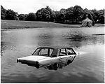 Car In Lake