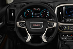 Car pictures of steering wheel view of a 2017 GMC Canyon Denali-Crew 4 Door Pickup Steering Wheel
