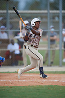 Termarr Johnson (10) during the WWBA World Championship at Lee County Player Development Complex on October 11, 2020 in Fort Myers, Florida.  Termarr Johnson, a resident of Atlanta, Georgia who attends Mays High School.  (Mike Janes/Four Seam Images)