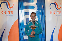 Hilversum, Netherlands, December 4, 2016, Winter Youth Circuit Masters,  2 nd th place girls 12 years,  Rose Marie  <br /> Photo: Tennisimages/Henk Koster