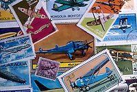 Aviation stamps..