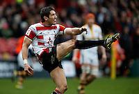 Photo: Richard Lane/Richard Lane Photography. Gloucester Rugby v Wasps. Aviva Premiership. 05/03/2016. Gloucester's James Hook.