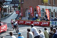 A group of 4 riders with a breakaway attempt<br /> <br /> Heistse Pijl 2020<br /> One Day Race: Heist-op-den-Berg > Heist-op-den-Berg 190km  (UCI 1.1)<br /> ©kramon
