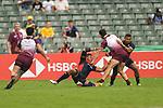 HSBC Hong Kong Rugby Sevens 2018 Japan vs Georgia on 06 April 2018, in Hong Kong. Photo by Marcio Rodrigo Machado / Power Sport Images