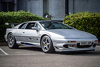 BNPS.co.uk (01202) 558833. <br /> Pic: TheMarket/BNPS<br /> <br /> Pictured: Lotus Sport 350 V8. <br /> <br /> A British motor enthusiast is selling his epic collection of Lotus Esprit sports cars for over £500,000.<br /> <br /> The iconic vehicles made by the British marque between 1976 to 2004 have belonged to the unnamed collector who loved the sleek design of them.