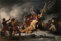 The Death of General Montgomery in the Attack on Quebec December 31 1775.